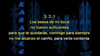 N´SAMBLE ME VAS A EXTRAÑAR KARAOKE GONVADO MUSIC