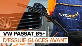 Montage Jeu de balais d'essuie-glace avant et arrière VW PASSAT : video manuel