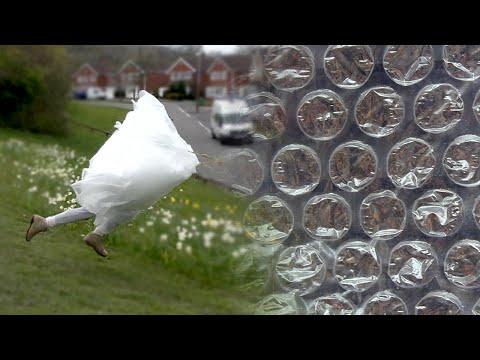The Bubble Wrap Experiment (WHIPLASH ALERT)
