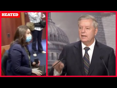 HEATED: Traitor Lindsey Graham CLASHES with the LIBERAL media over Trump