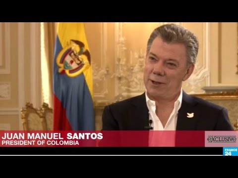 Colombia's President Santos: Nobel Peace Prize 'a gift from God'