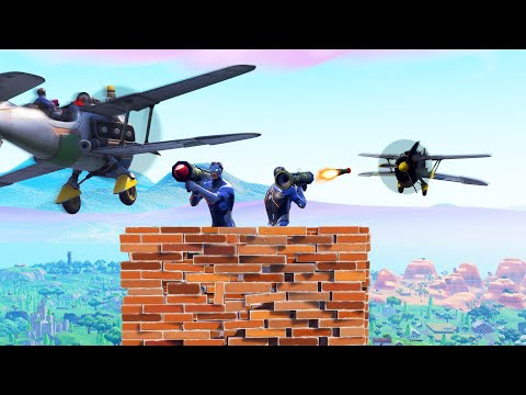 *NEW* PLANES Vs. RPG's Game Mode IN FORTNITE! (Battle Royale)