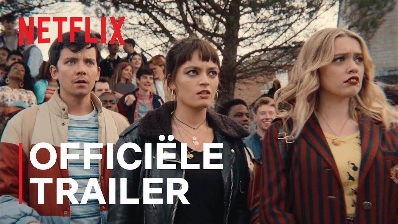 Asa Butterfield in nieuwe Sex Education S3 trailerop Netflix België