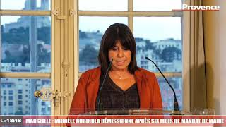 Le 18:18 - Coup de tonnerre à Marseille : la maire Michèle Rubirola démissionne !