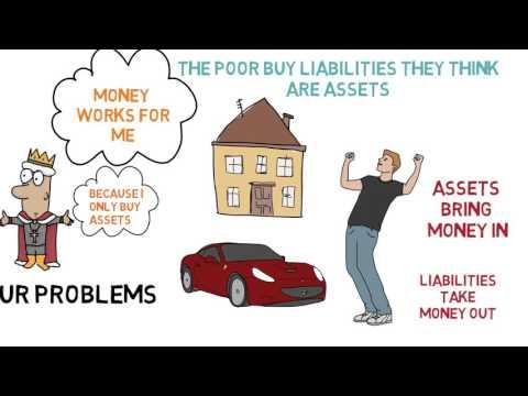 How To Gain Wealth - Rich Dad Poor Dad - Robert Kiyosaki - ANIMATED BOOK REVIEW