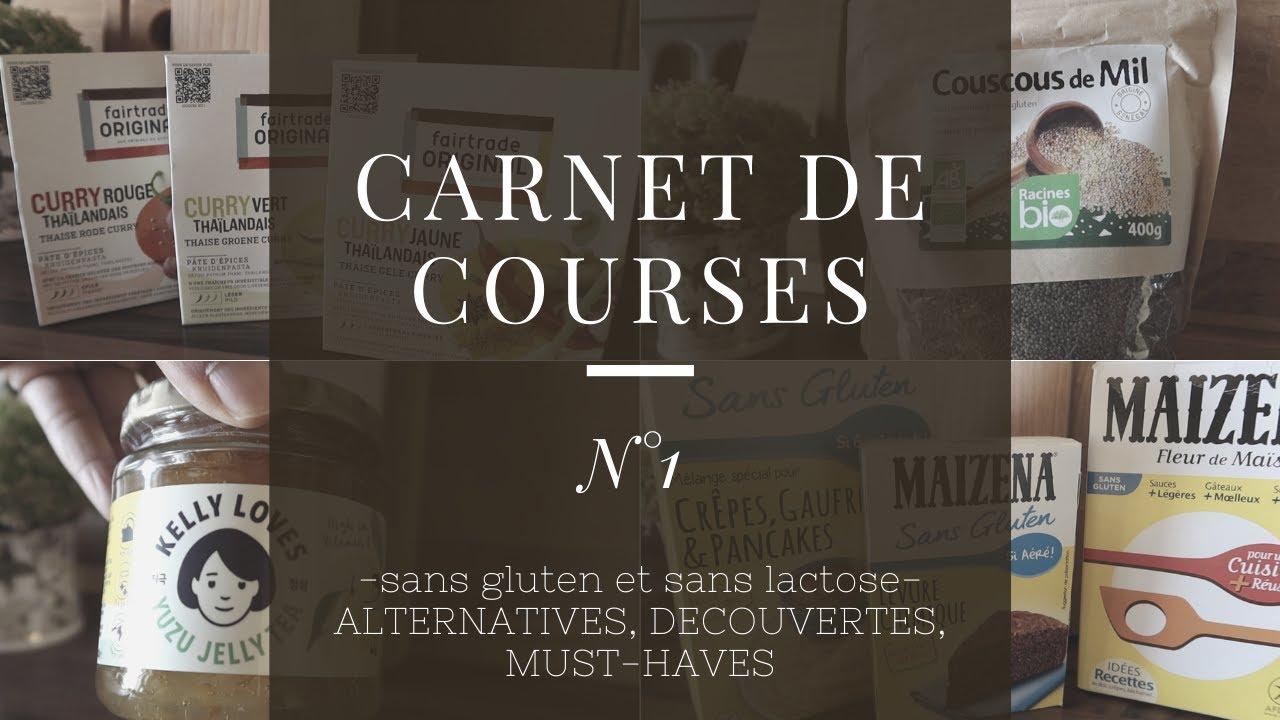 Download Carnet de courses sans gluten N°1