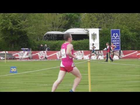 1500 metres men heats BUCS Championships 29042017