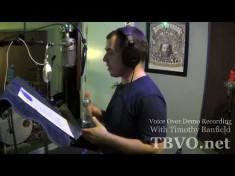 Recording a Voice Over Demo Reel