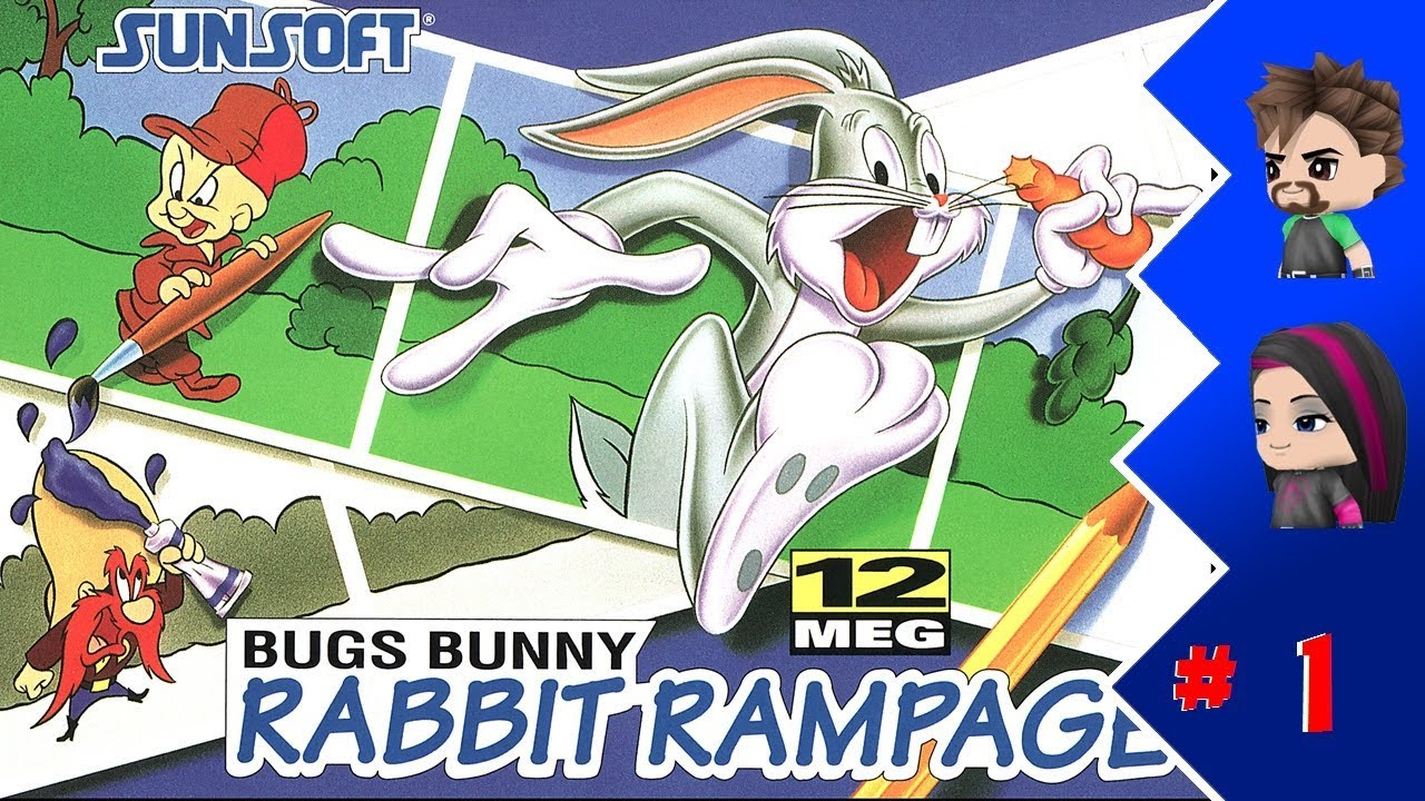 Uncategorized Bugs Bunny Episode 1 game bros bugs bunny in rabbit rampage episode 1 youtube 1