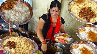 Happy to Serve You   Cheapest Roadside Unlimited Meals   #StreetFood