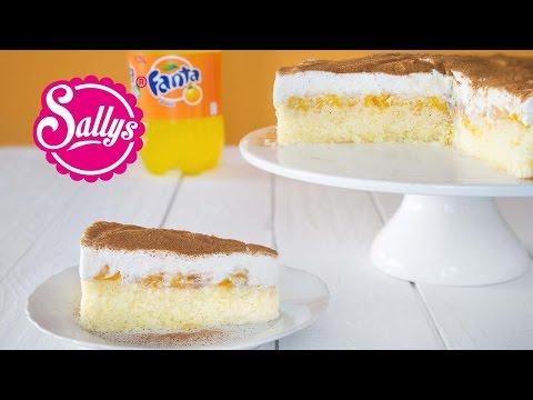 Fanta Schnitte / Fanta Kuchen / Fanta Torte / Sallys Classics