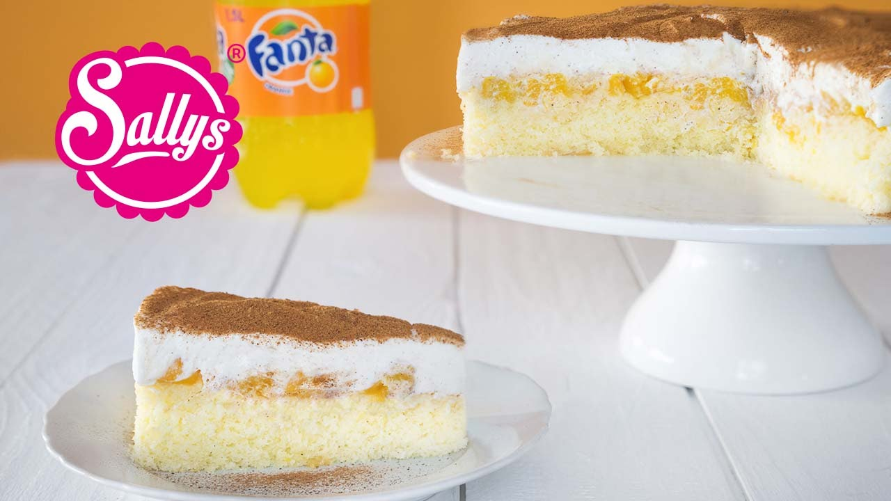Fanta Schnitte Fanta Kuchen Fanta Torte Sallys Classics Youtube