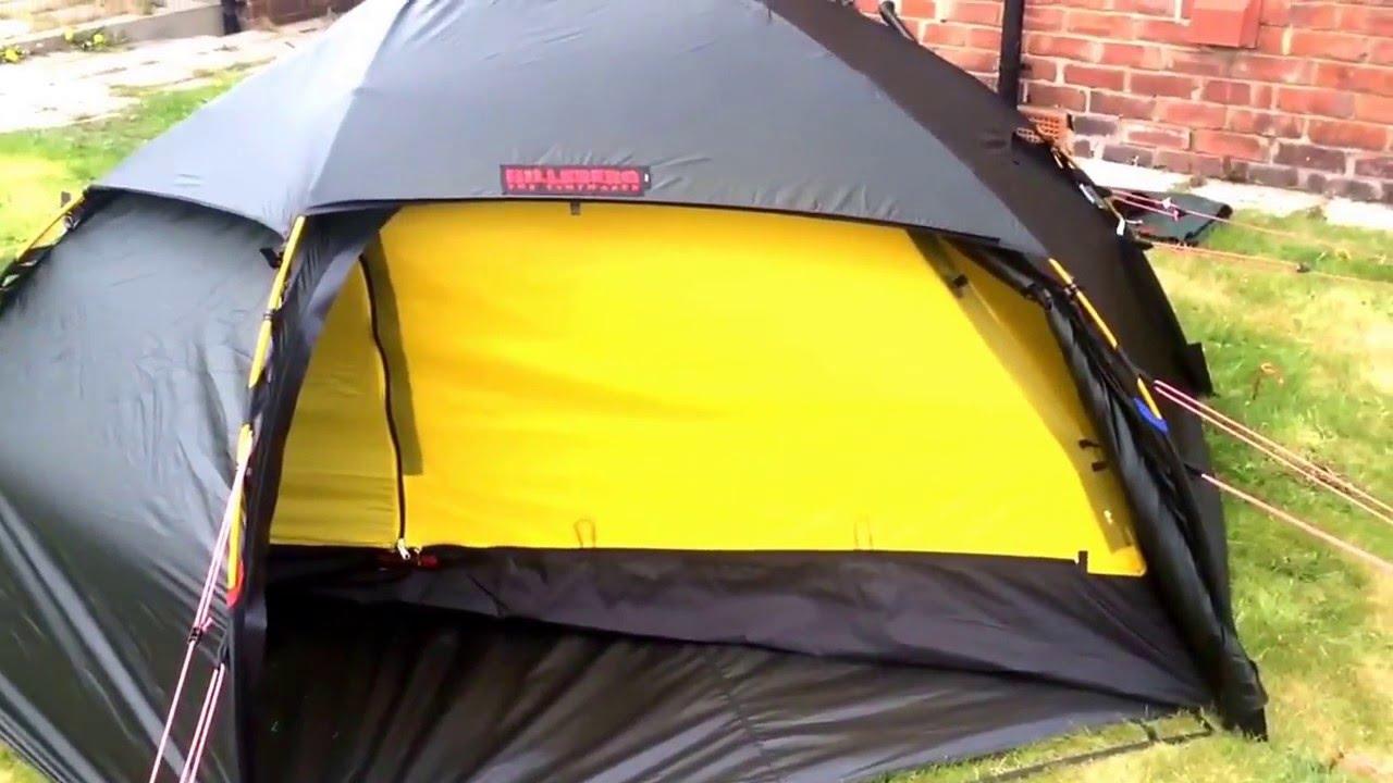 Alanu0027s New Tent Hilleberg Allak & Alanu0027s New Tent Hilleberg Allak - YouTube