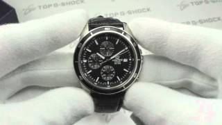 Casio Edifice EFR-526L-1A обзор наручных часов от Интернет-магазина TopGShop.ru