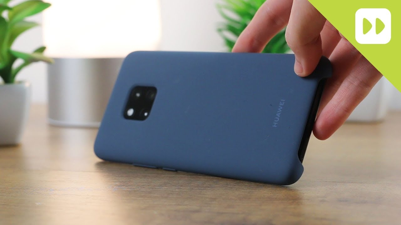 buy popular 7950f 9ba80 Official Huawei Mate 20 Pro Silicone Case Review