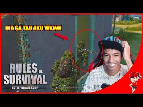 BERI AKU AYAM DONG !! Rules Of Survival Indonesia