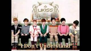 [MP3 DOWNLOAD] U-Kiss- I Don't Understand w/ Romanized & English Lyrics