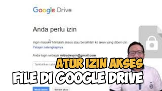Lihat Cara Memberi Izin Google Drive mudah