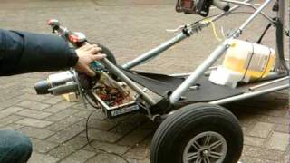 Blokart  jet cat 160sx Jetkart jan edam Holland