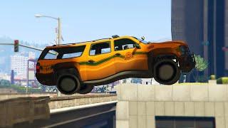 STRANGE VEHICLE RACE! (GTA 5 Funny Moments)