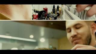 Смотреть видео Барбер шоп «Мужик»   территория мужского стиля в бизнес центре «Нагатинский» онлайн