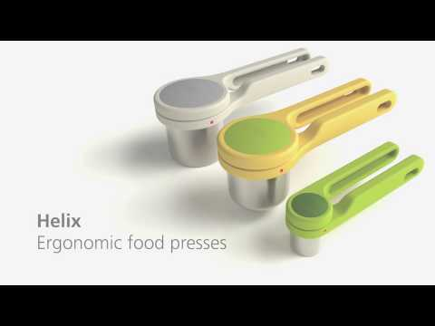 Joseph Joseph Helix food and citrus presses