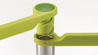 Joseph Joseph Helix food and citrus presses