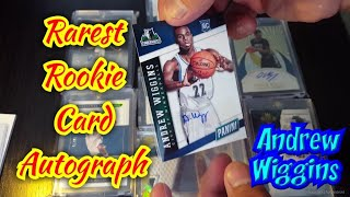 1 of the Rarest Rookie Cards Autograph of Andrew Wiggins  SSP