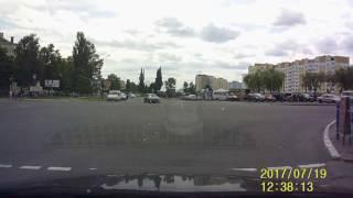 Мозырь. Лихой водитель БМВ