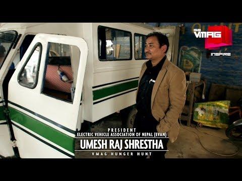 Man on a mission: Umesh Raj Shrestha (President, EVAN)