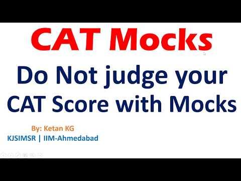 CAT Mocks | Dont get Demotivated due to Mock Score