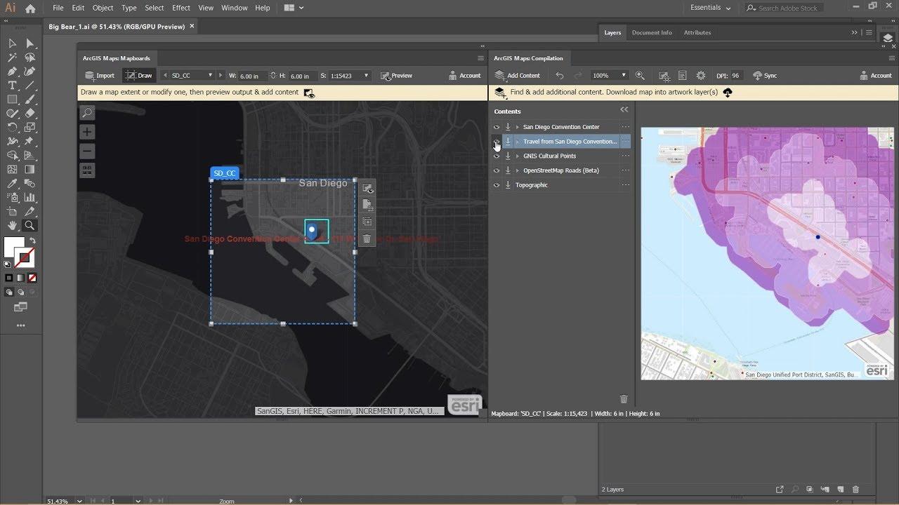 Maps for Adobe Creative Cloud | ArcGIS