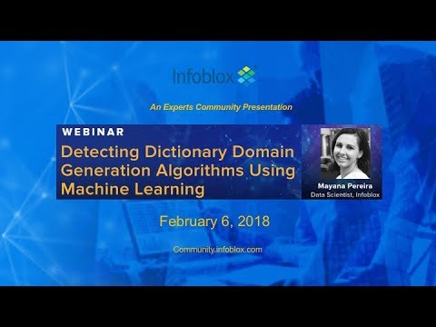 Detecting Dictionary DGAs using Machine Learning Video