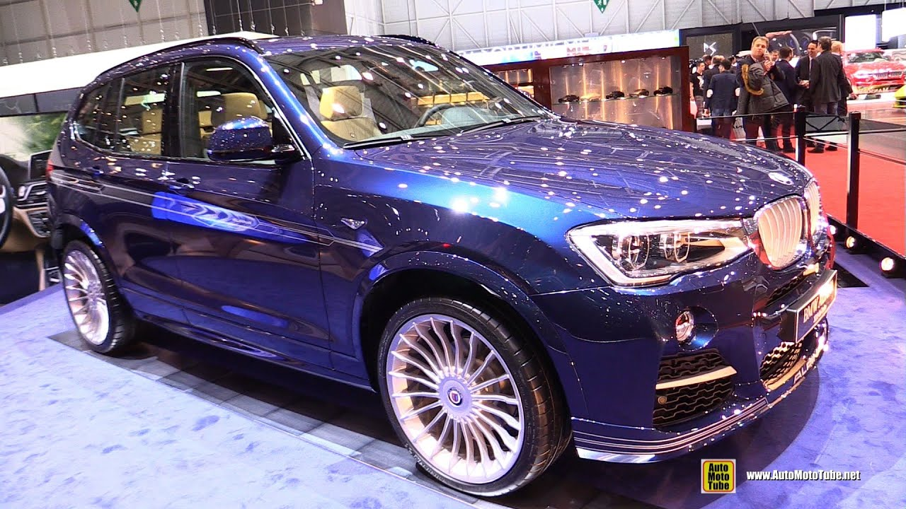 Cool 2016 BMW X3 Alpina XD3 BiTurbo  Exterior And Interior