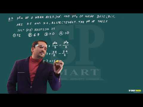 JEE MAIN 2017 CHEMISTRY SOLUTIONS in HINDI ||  BY SP SMART