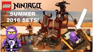 LEGO Ninjago SUMMER 2016 Sets Pictures!