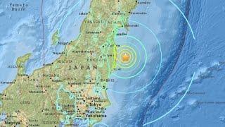 Tsunami Reaches Eastern Japan After Magnitude 7.3 Quake