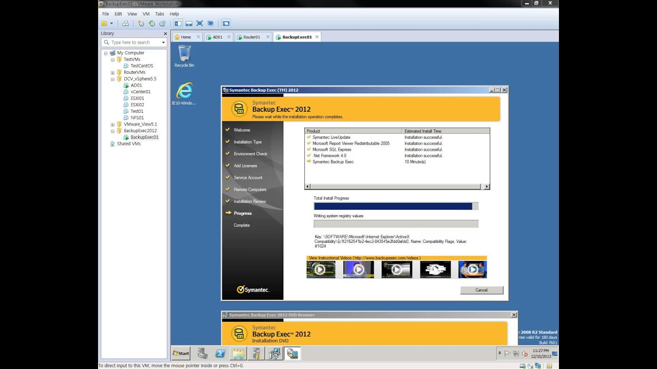 Backup exec 2014 is now available! Vox.