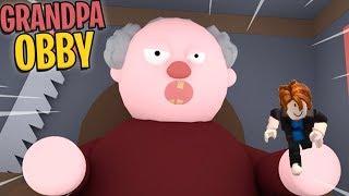 Escape Grandpas House Obby! Roblox Fun Games