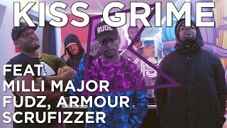 Milli Major, Fudz, Armour & Scrufizzer Freestyle + Chat | KISS Grime with Rude Kid