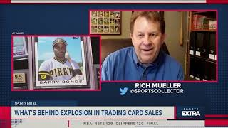 Sports Extra: What's behind the explosion in sports cards sales and will the bubble burst?