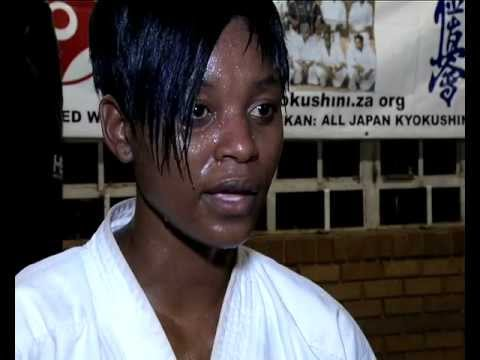 Karate from the Townships of South Africa.