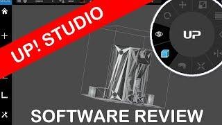Up Studio 3D Printer Software Review