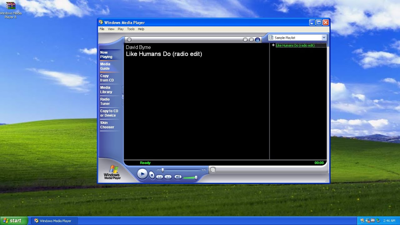 Windows media player xp, player windows xp pano.