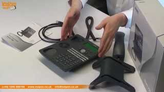 snom 720 VoIP Phone Video Review / Unboxing