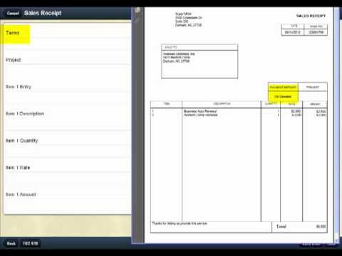 How To Complete Receipt Using Acord One.Mp4 - Youtube