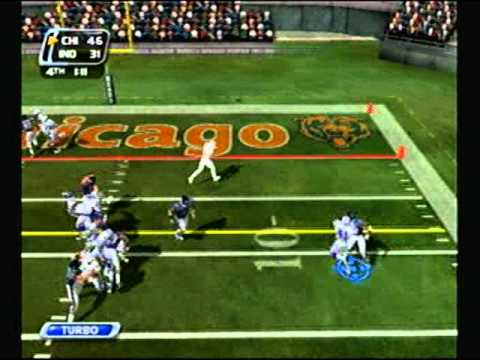 NFL Blitz 2003 - Indianapolis Colts at Chicago Bears (2nd Half)