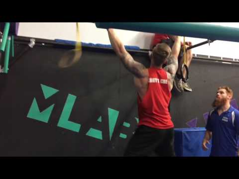 Cory Cook National Ninja League Movement Lab Ohio 2nd Place Run