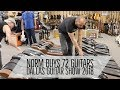 Norm buys 72 Guitars at the Dallas Guitar Show 2018 | Norman's Rare Guitars