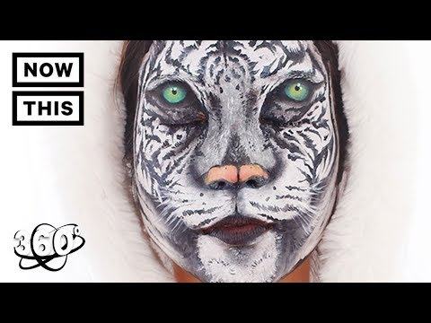 Mimi Choi Creates Optical Illusions with Makeup | Unframed by Gear 360 | NowThis